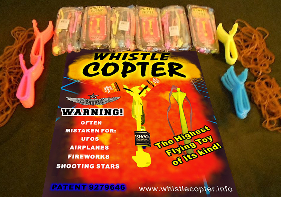 Eight whistlecopters