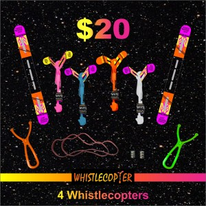Four WHISTLECOPTER