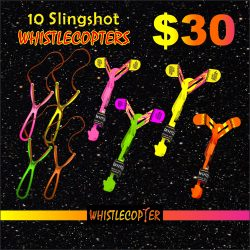 Slingshot Whistle Copter