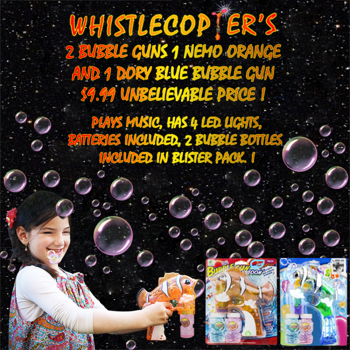 04192017 two bubble guns $9.99