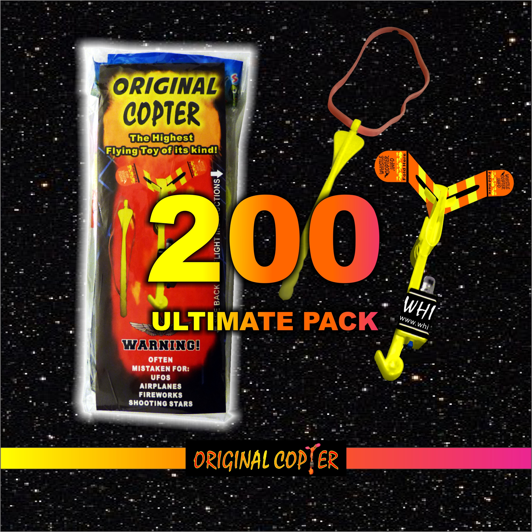 Two Hundred Ultimate Pack ORIGINAL COPTER