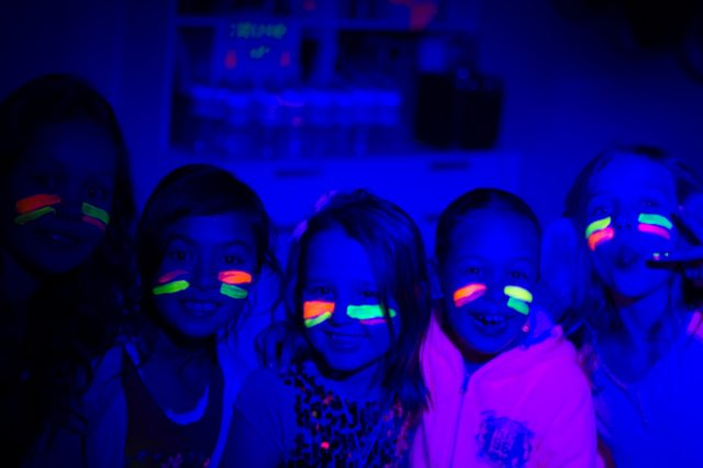 How to Throw a Simple Glow Party