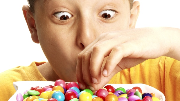 Controlling Kids from eating too Much Sweets