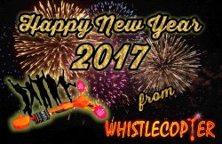 Happy New Year 2017 From Whistlecopter
