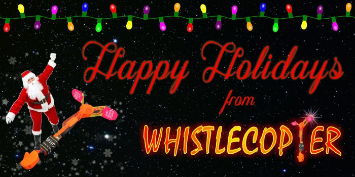 Whistlecopter Happy Holidays