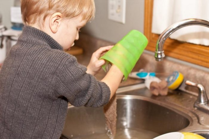 kids' household chores