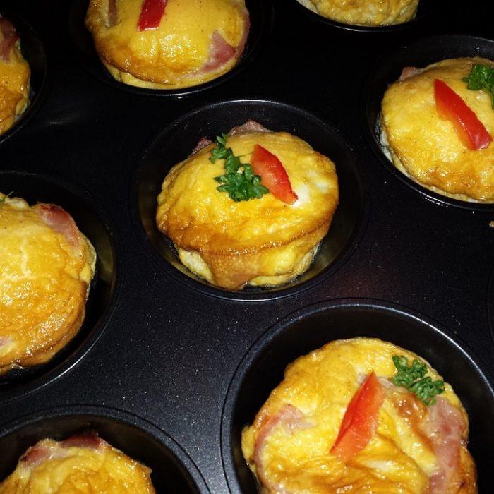 Muffins with Ham
