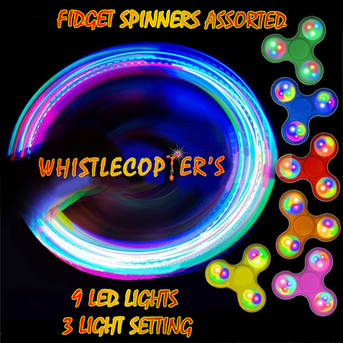 Whistlecopter's Fidget Spinner Toy