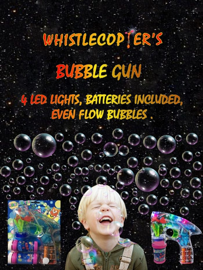 bubble gun toy