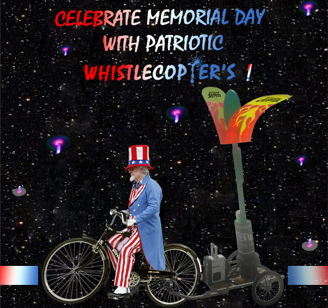 celebrating with Whistlecopter