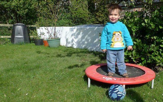 kids' trampoline