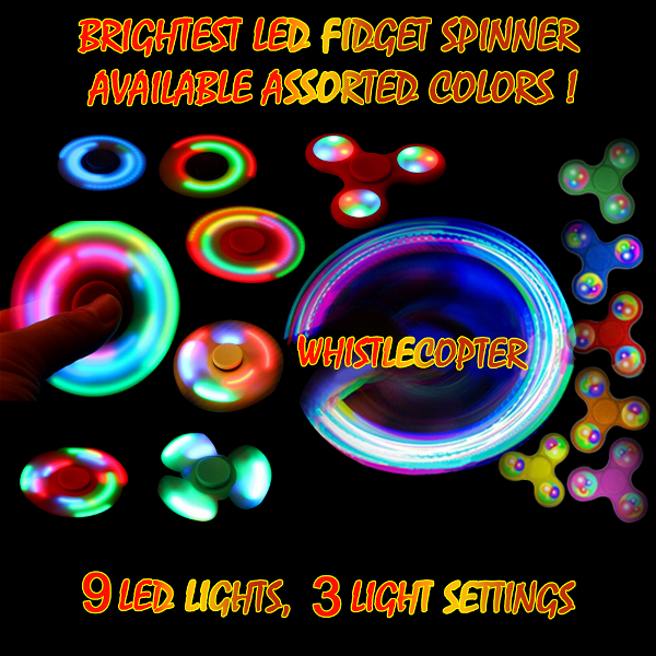 brightest LED spinner