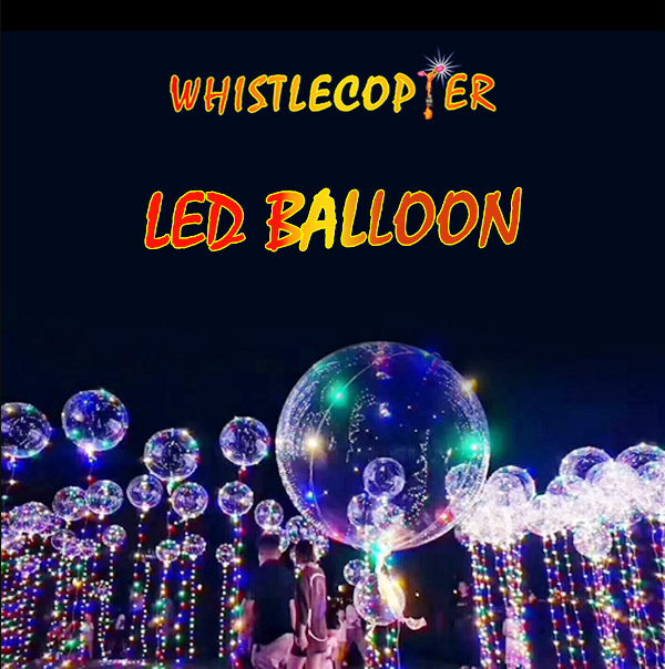 Whistlecopter LED Balloon