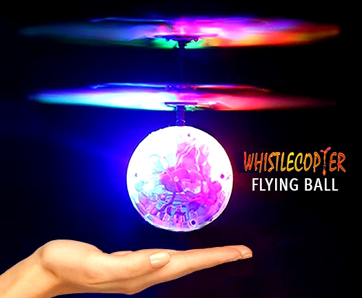 Whistlecopter Flying Ball
