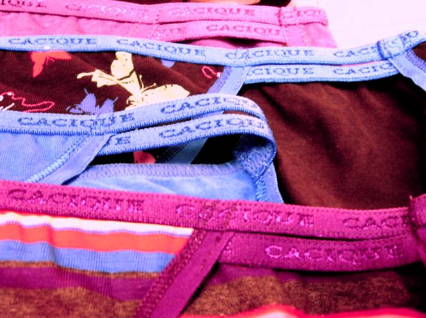 Colored Underwear