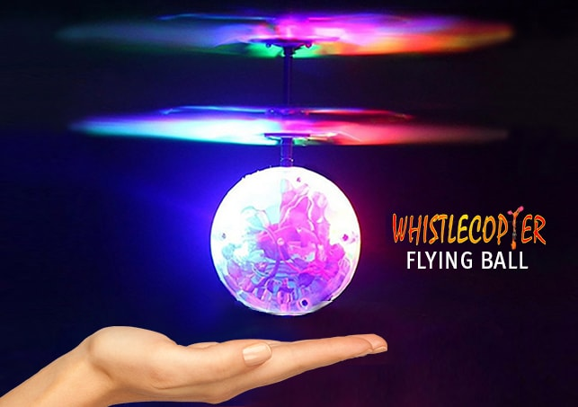 Whistlecopter's Flying Ball