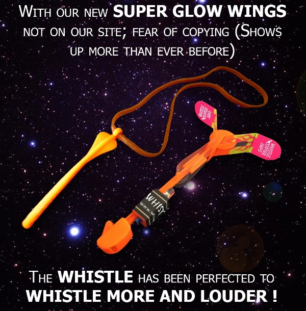 Whistlecopter's Super Glow Wings