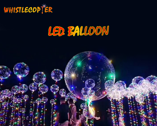 Whistlecopter LED Balloons