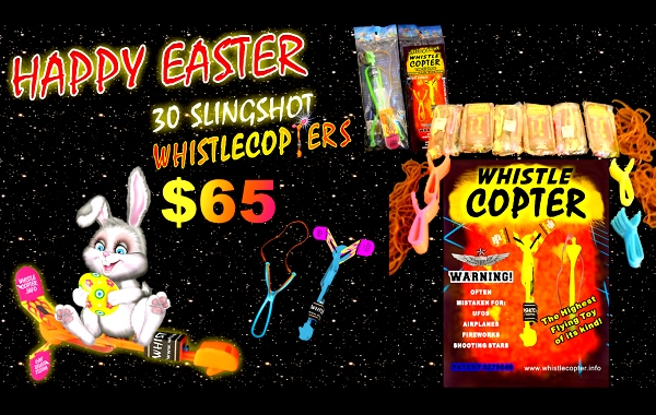 Fun Whistlecopter Easter