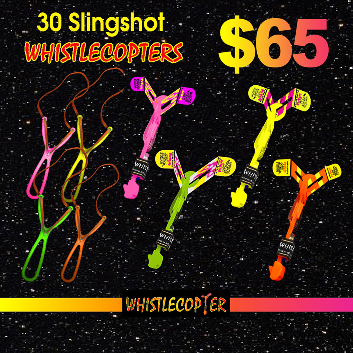 Awesome Whistlecopter Toys