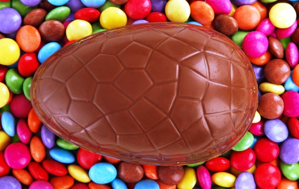 Chocolate Egg and Candies
