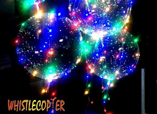 Whistlecopter's LED Balloons