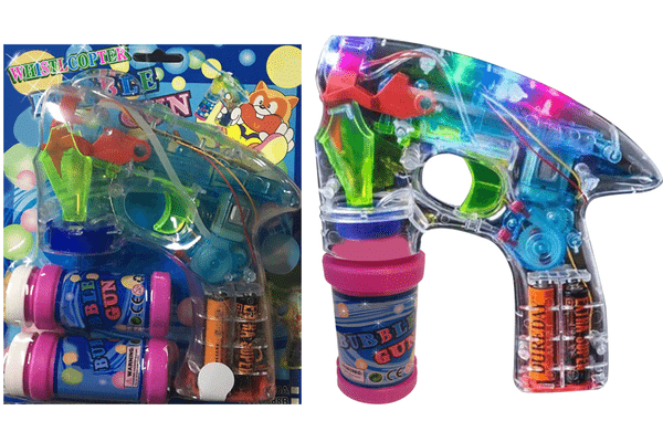 Whistlecopter's Lazer Bubble Blaster.