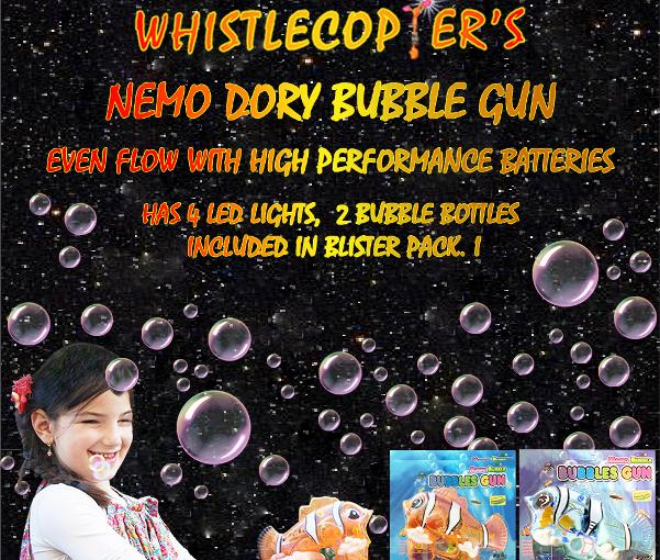 Nemo Dory Bubble Gun