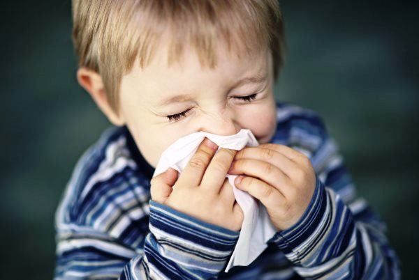 Allergy Symptoms - Sneezing