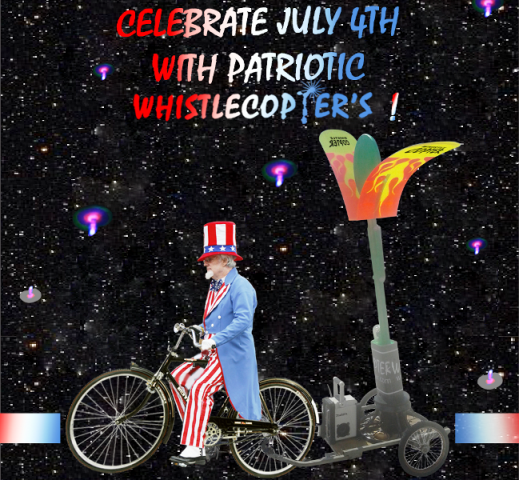 Patriotic Whistlecopter