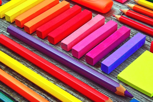 Colorful Art Materials