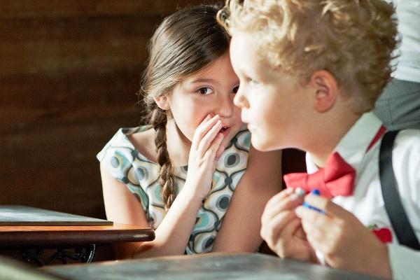 Children Whispering