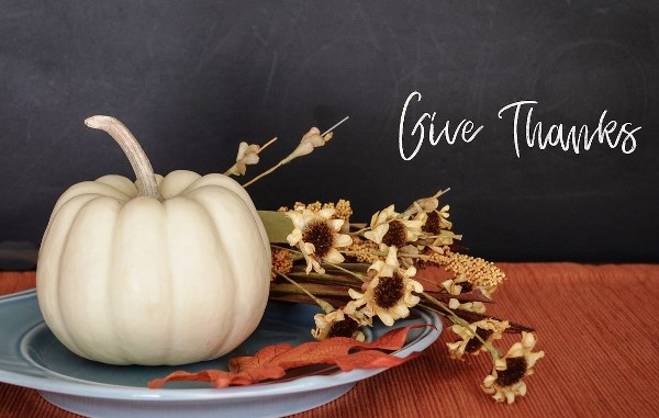 Give Thanks on Thanksgiving Day