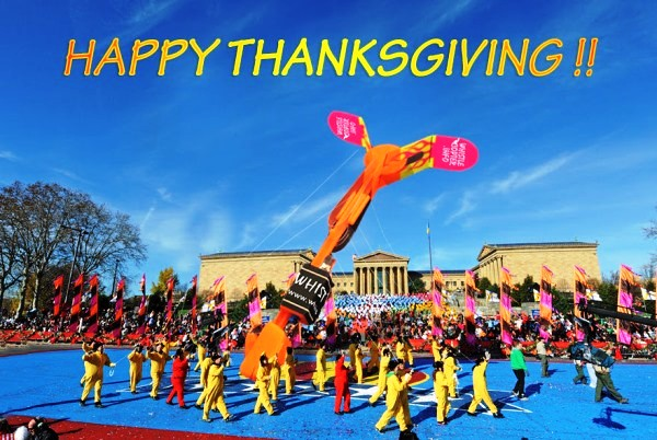 Happy Thanksgiving from Whistlecopter!