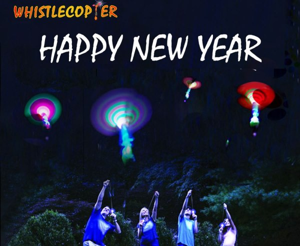 Happy New Year from Whistlecopter!