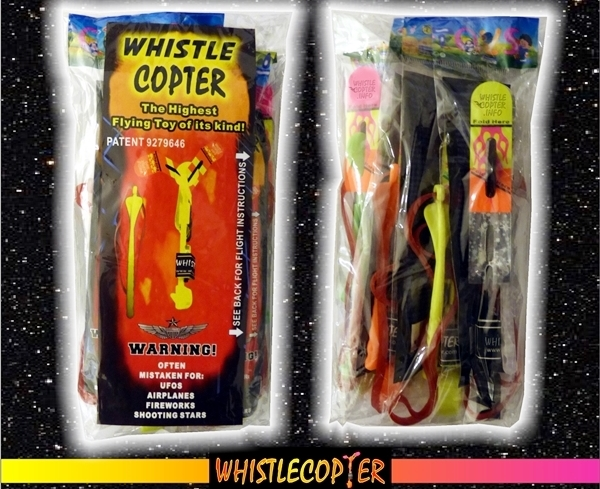 Whistlecopter Toys