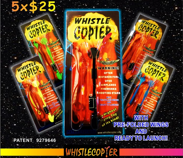 Whistlecopter Blister Pack