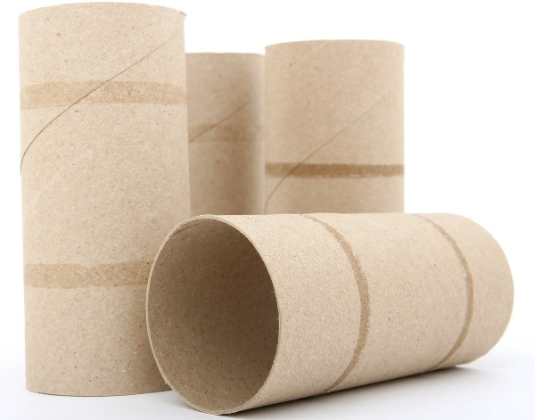 Toilet Roll Cores for Crafts