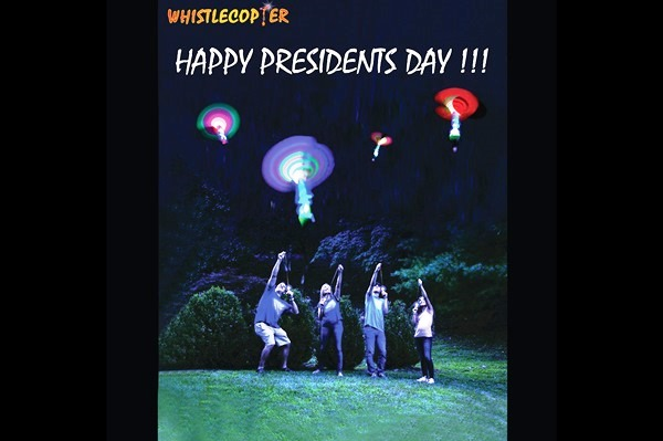Happy President's Day from Whistlecopter!