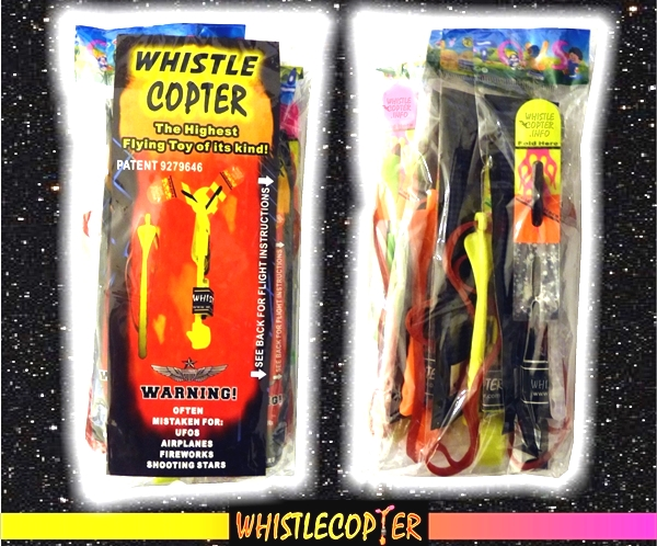 The Whistlecopter Toys