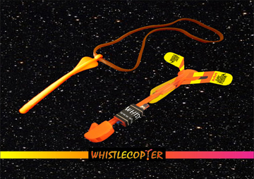 whistle copter