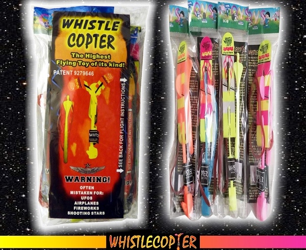 The Whistlecopter Package
