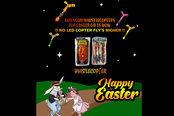 Happy Easter from Whistlecopter!