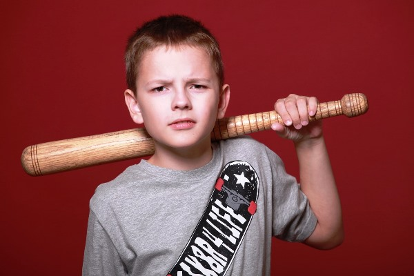 Boy with a Baseball Bat
