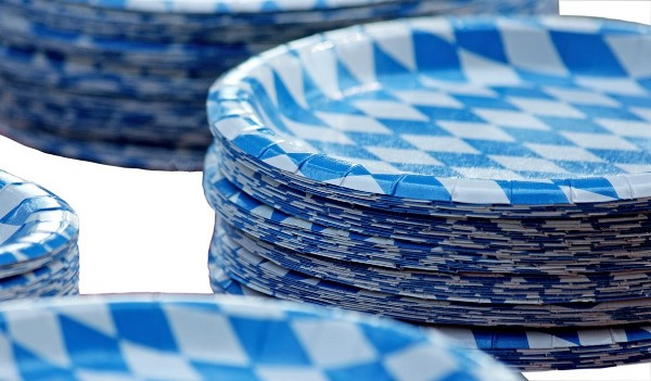 Stack of Paper Plates