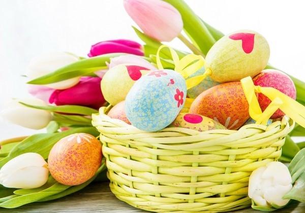Classic Easter Egg Basket